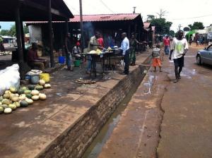 Salima Market in Malawi